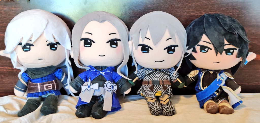 ALL 4 OF THE #ffxiv HVW PLUSHIES ARE HERE!!!! I'll be opening preorders for them on my etsy on Friday at 8pm EST <:3c I'll also be putting up a limited amount of early bird sets so grab them while they last!  POs will end on June 29th! <br>http://pic.twitter.com/oFshmXgKft