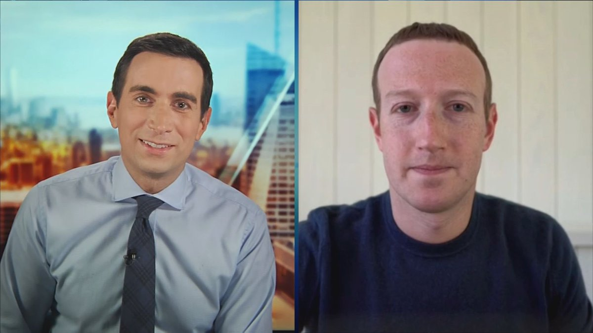 Tomorrow morning on @SquawkCNBC: Mark Zuckerberg, @Facebook's CEO, on future of remote work + #WFH, @Twitter fact-checking Trump and Big Tech in age of #COVID. Join us.