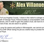 Image for the Tweet beginning: As Sheriff of @CountyofLA, I