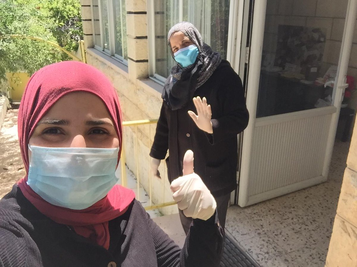 Covid-19 in #Palestine. #keepgoing #PalliativeCare #facemasks #keepsafepic.twitter.com/iE7u1wuQz8