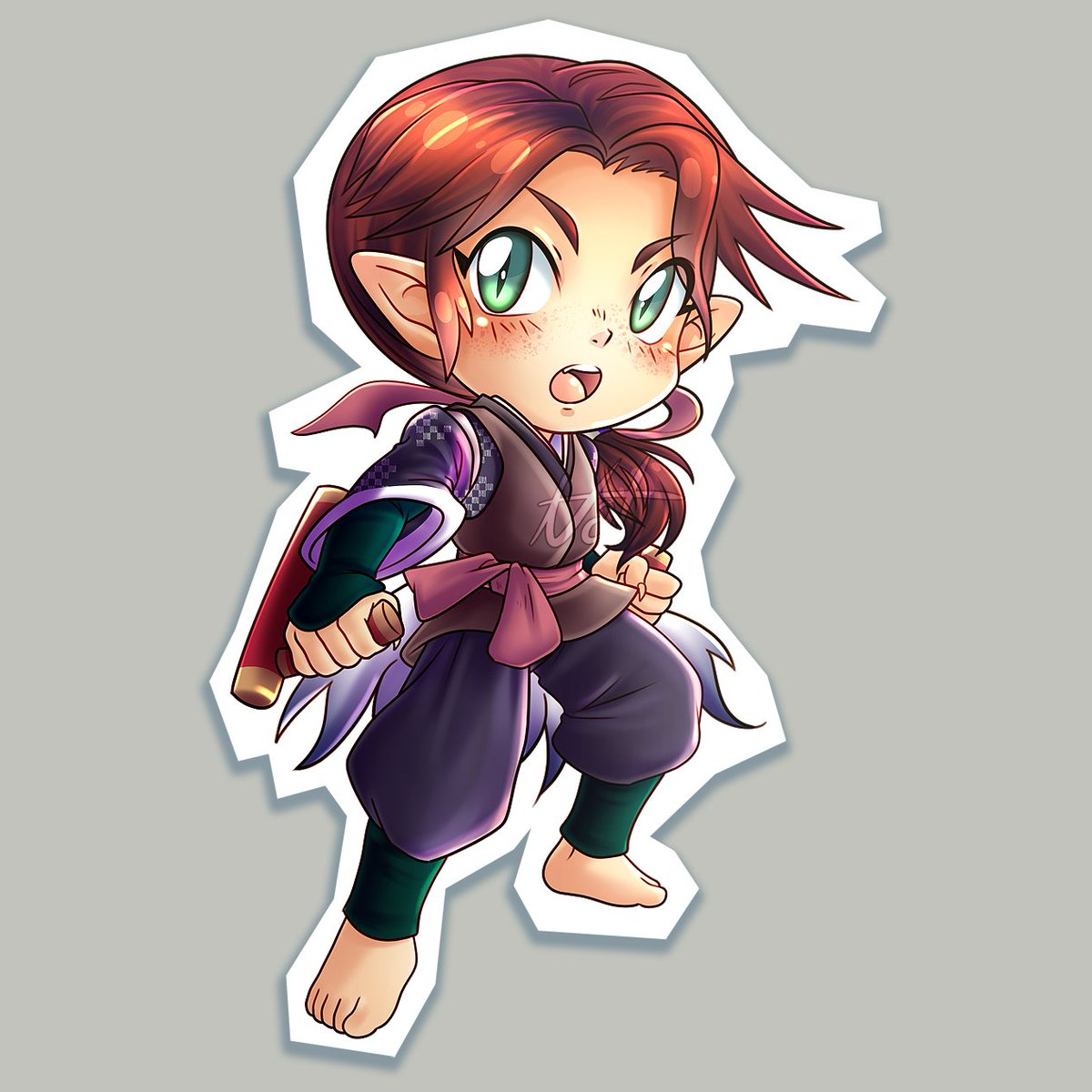 Chibi commission for a friend! #artcommission #chibiart #animeartist pic.twitter.com/FXvJ9Mvz89