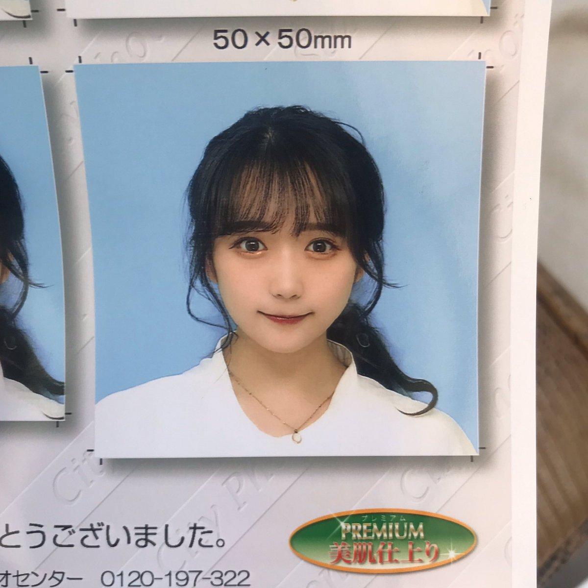 また証明写真🧏🏻♀️まだ17歳で25歳じゃないのに乗りすぎて足りなくなったから5冊目のパスポート更新しに行ってくる✈️ ༘˟