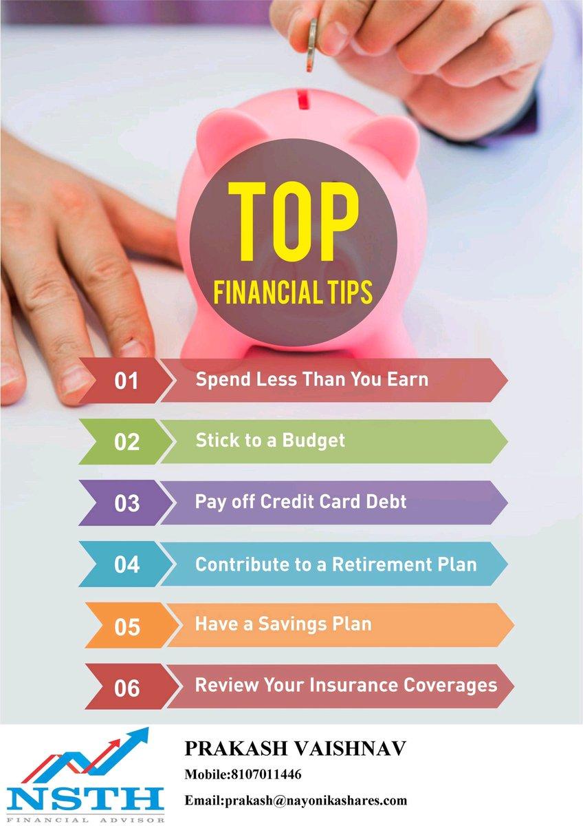 Top Financial tips##plan##invest pic.twitter.com/3vRZUkeXBu