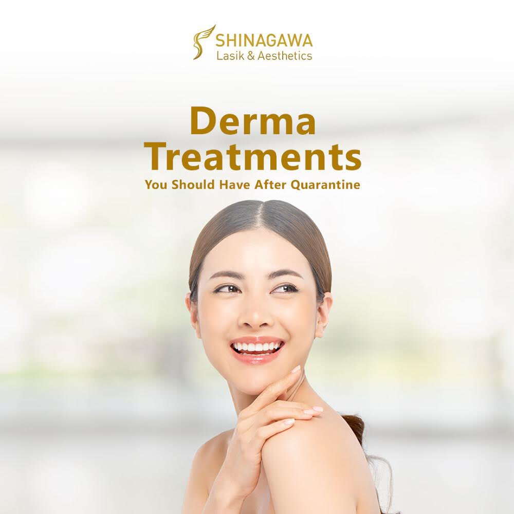 For sure, your skin and body is aching for some much needed pampering after the long quarantine period. Fortunately for you, Shinagawa Aesthetics is ready for all your beauty and skin essentials. Here are your must have treatments after quarantine:
