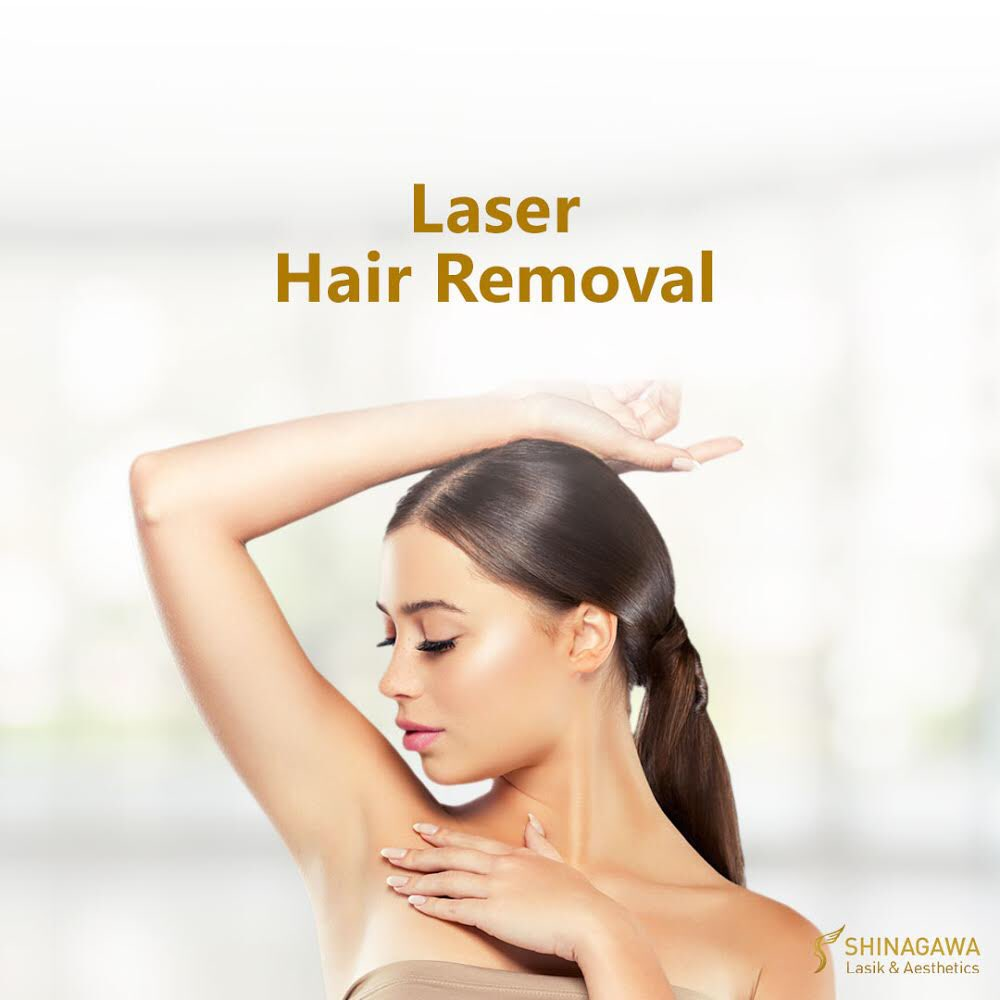 2. Laser Hair Removal – All your unwanted hair should be gone by now. Get rid of all of them with our proven and effective hair removal services.