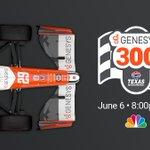 🔟 DAYS 'til the #Genesys300.  ✍️ Mark your calendar.  🏎️💨 We've got a date in primetime on @nbc at @TXMotorSpeedway.   🗓️ June 6 🕗 8PM EDT #RacetotheCloud @IndyCar