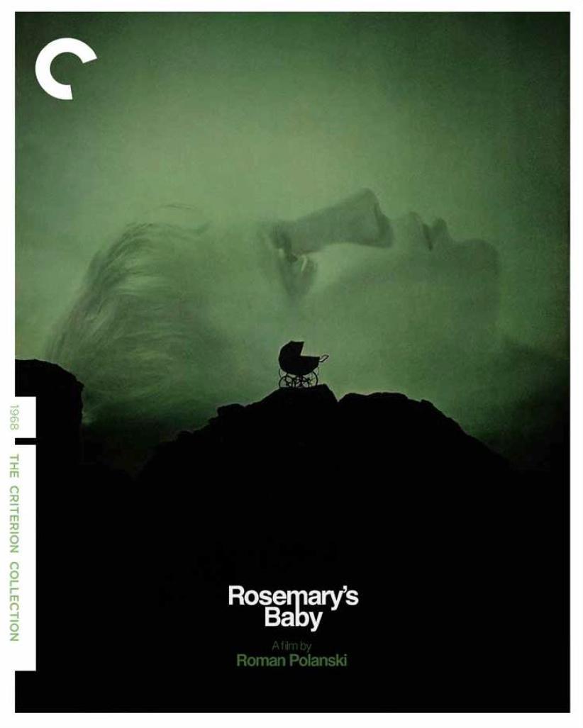 ROSEMARY'S BABY (1968) #horror by Roman Polanski | criterion cover w/ Mia Farrow & minimal #posterpic.twitter.com/mLrRUo9KRE