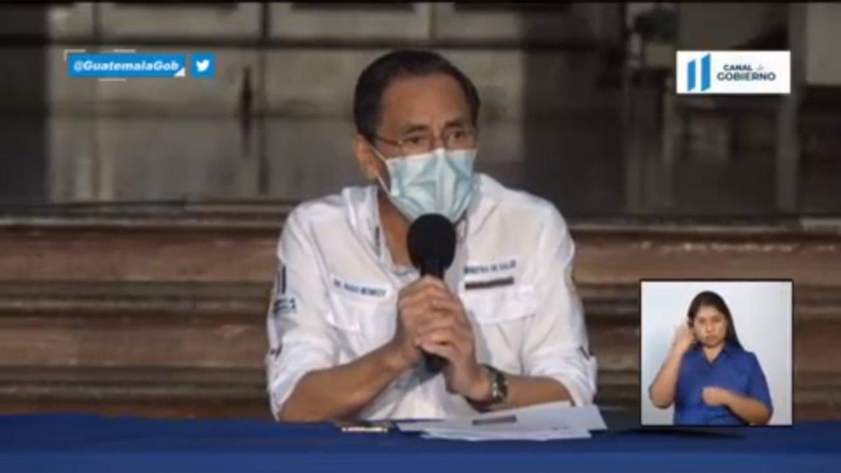 test Twitter Media - El ministro de Salud, Hugo Monroy, confirma que cinco personas más fallecieron por COVID-19 en el país. https://t.co/BZHhFgc17n