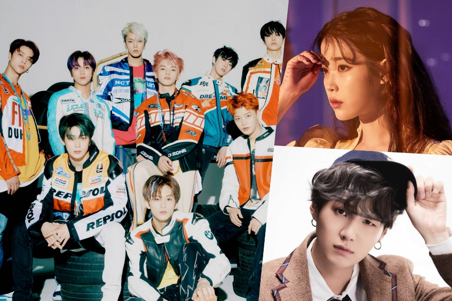 #NCT127  Achieves Triple Crown On Gaon Weekly Charts; #IU + #BTS' Suga Maintain Double Crown  https://www. soompi.com/article/140310 6wpp/nct-127-achieves-triple-crown-on-gaon-weekly-charts-iu-bts-suga-maintain-double-crown  … <br>http://pic.twitter.com/efWYpThFGs