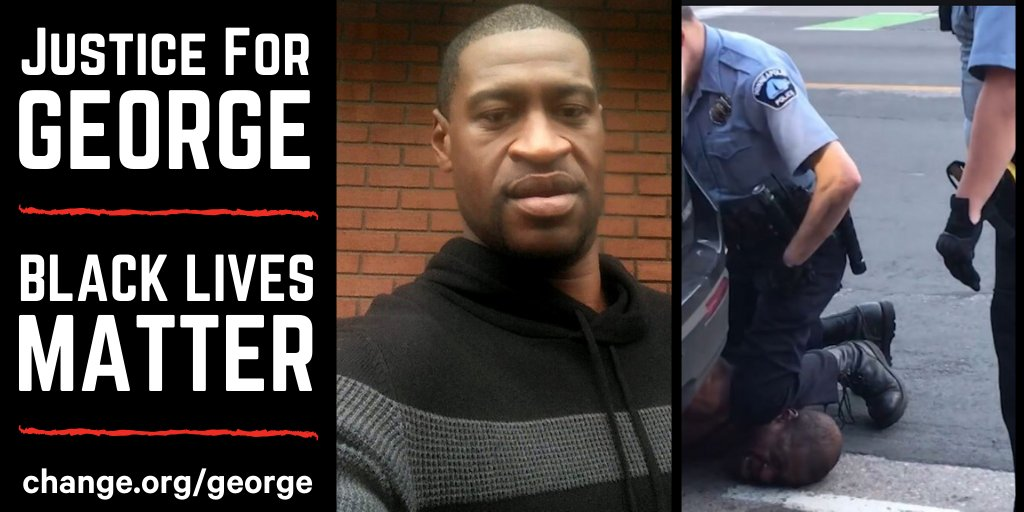Andrew is fighting to bring justice to George Floyd who died while pleading that he couldnt breathe. Will you join his call at change.org/george?