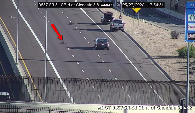 Image posted in Tweet made by Arizona DOT on May 28, 2020, 12:56 am UTC
