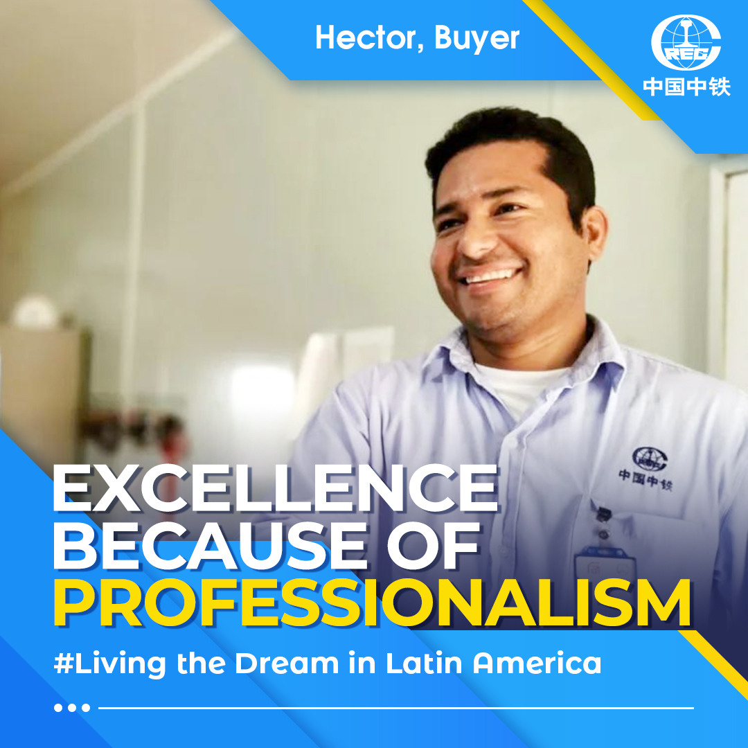 Hector is a buyer at CREC's company in #Peru . Hector has always kept a clear record of every purchase. His unwavering attention has earned him praise from colleagues. From Mar. 2020, Hector has been mobilizing protection supplies for the team to ensure construction continuity. pic.twitter.com/qsahxEldqQ