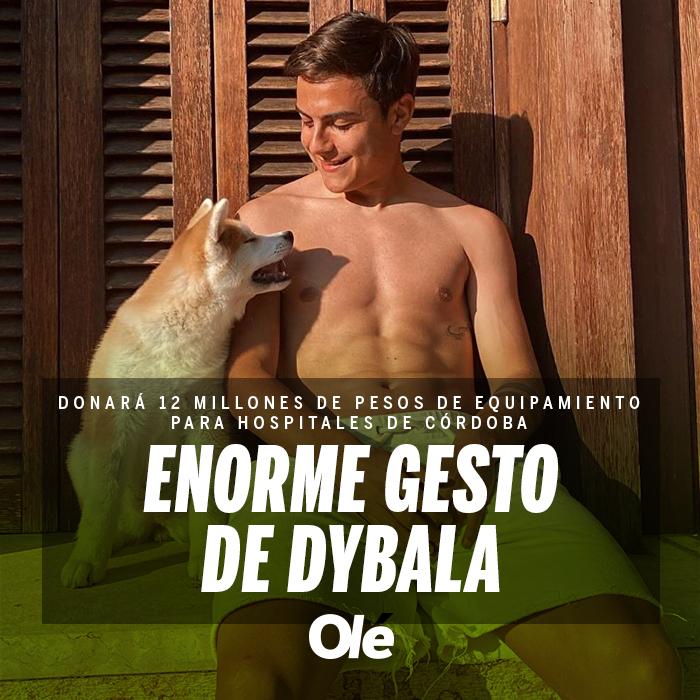 "Diario Olé on Twitter: ""👏👏 GRAN GESTO DE DYBALA 👉 La Joya donó ..."