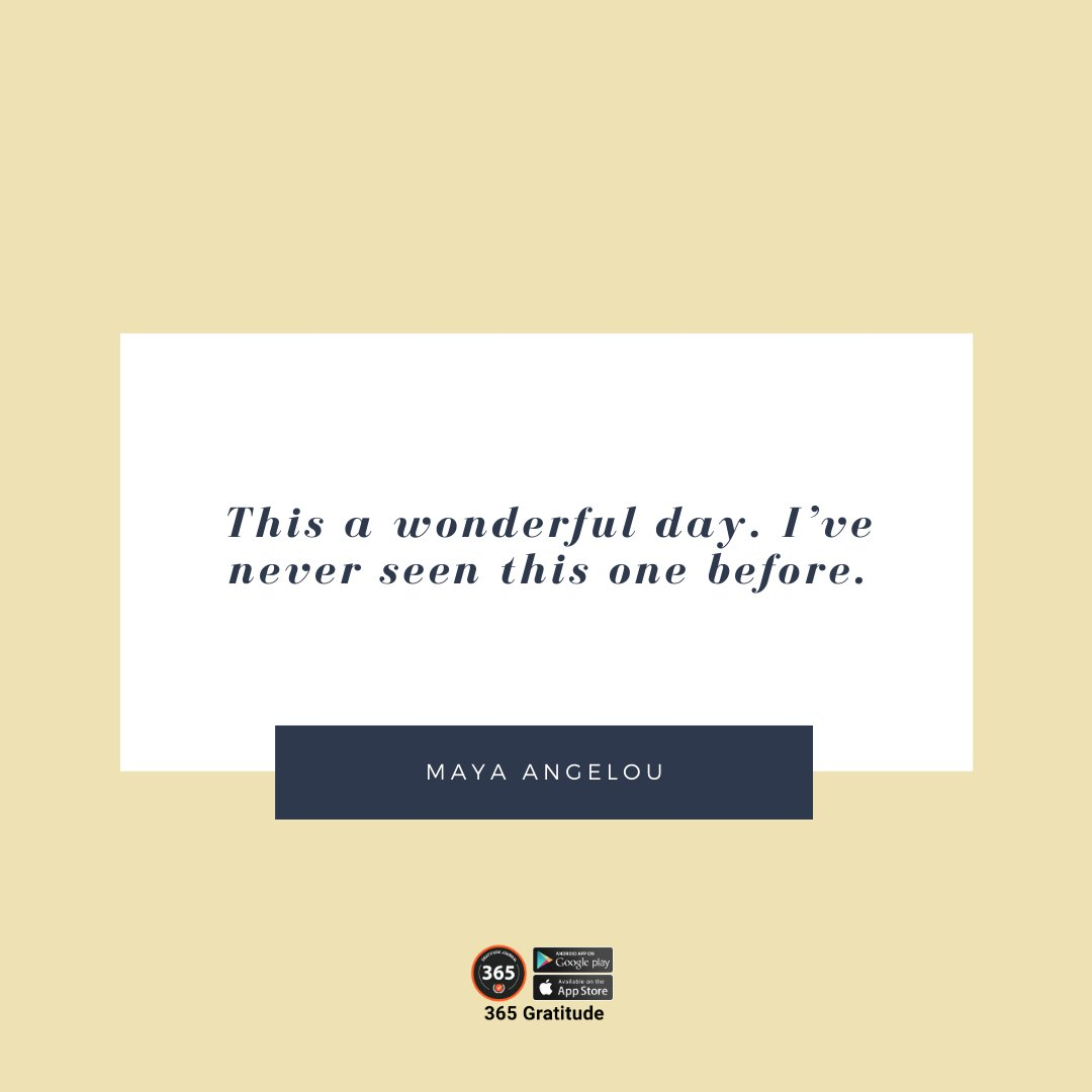 What are you grateful for this day? ⠀⠀ ⠀⠀ #365gratitude⠀⠀ ⠀⠀ 365 Gratitude App: https://365gratitudejournal⠀⠀ Follow @365gratitudejournal ⠀⠀ ⠀⠀ #wonderfulday #graditude #gratitude  #gratitudequotes #inspirational<br>http://pic.twitter.com/Zj8awNy88o