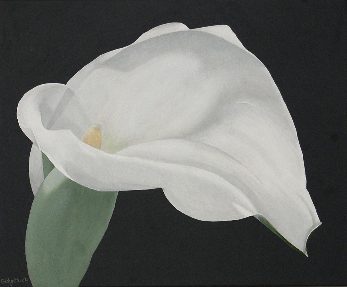 Arum Lily Painting  White Flower on Gray http://dld.bz/faSgA #decor interiordesign painting flowers pic.twitter.com/KBK3ER5H2v