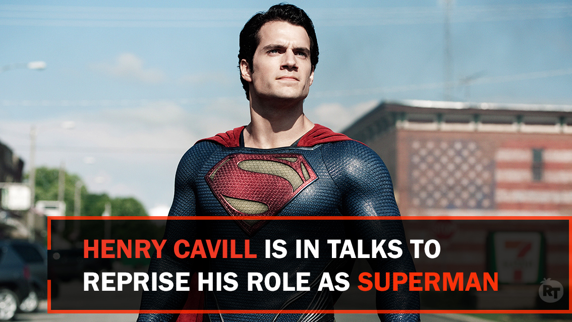 #Superman returns! Henry Cavill is in talks to reprise his role as The Man of Steel in the DC Universe. via @Deadline - bit.ly/3c909dt