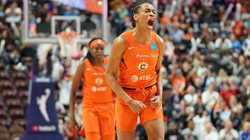 They're big. They're bad. And they're back on the hunt for their first WNBA title.  Here's a look at the @ConnecticutSun's 2020 roster: https://t.co/KeC6ECaJRQ https://t.co/QZBG5zRfiE