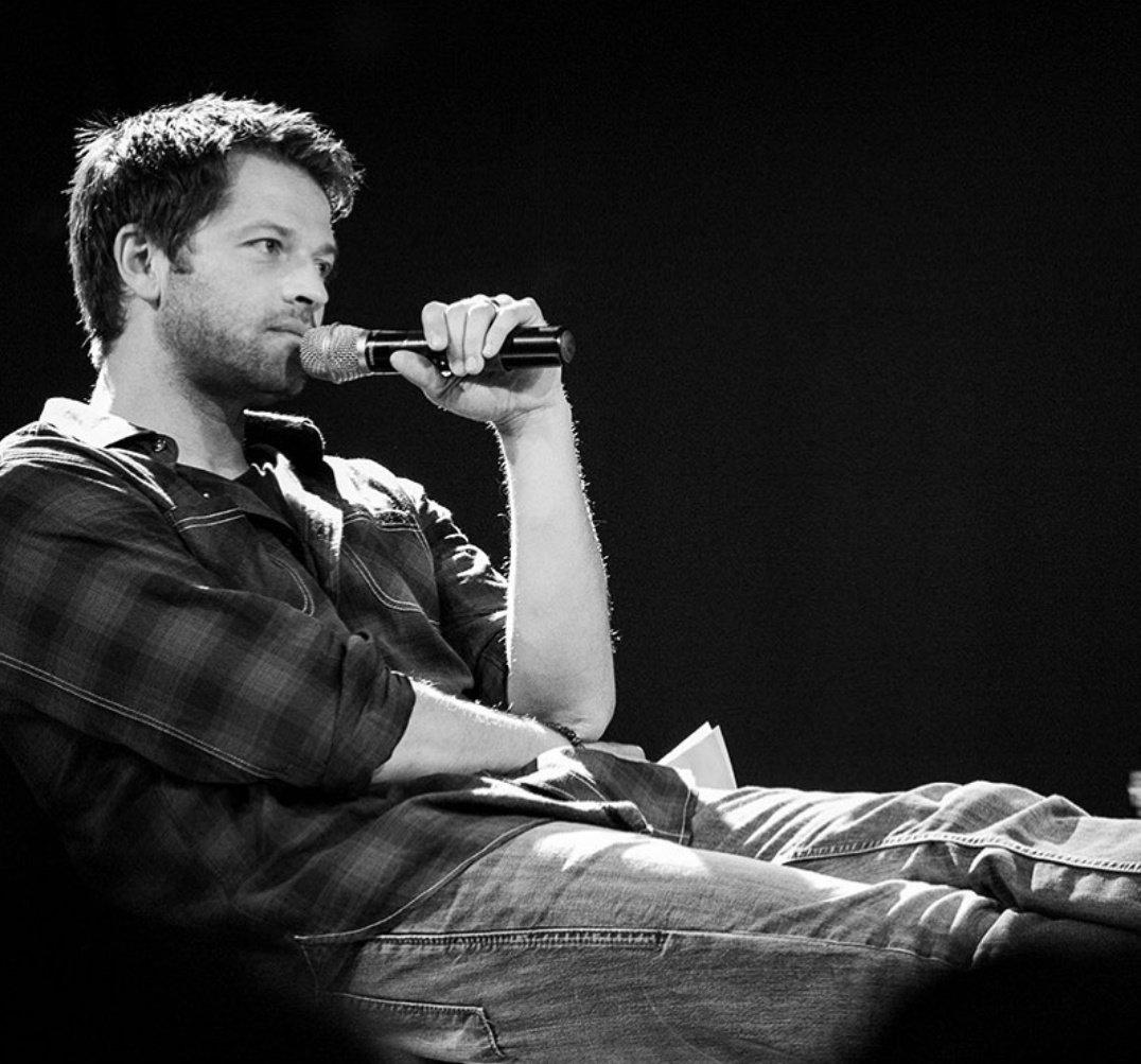 Favorite crack ship thread: Misha/Dean This Misha......... and this Dean