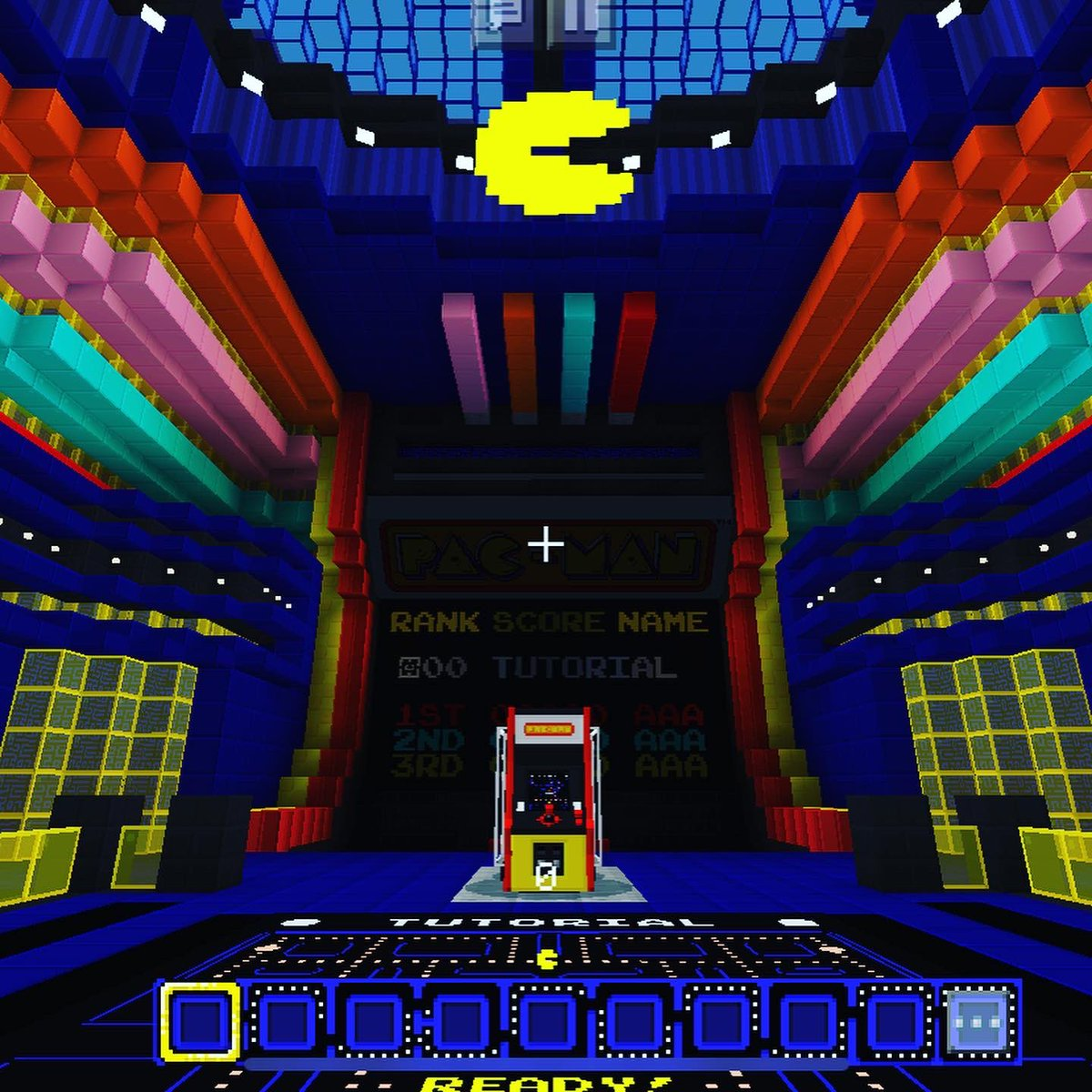 In celebration of its 40th anniversary, Pac-Man comes to Minecraft with new DLC. Run the classic maxes in first person or build your own. Solo or with friends. (Can I say how much better I like Pac-Man in Minecraft?)  check it out! #pacman #minecraft #minecraftdlcpic.twitter.com/EwMg31s0Sn