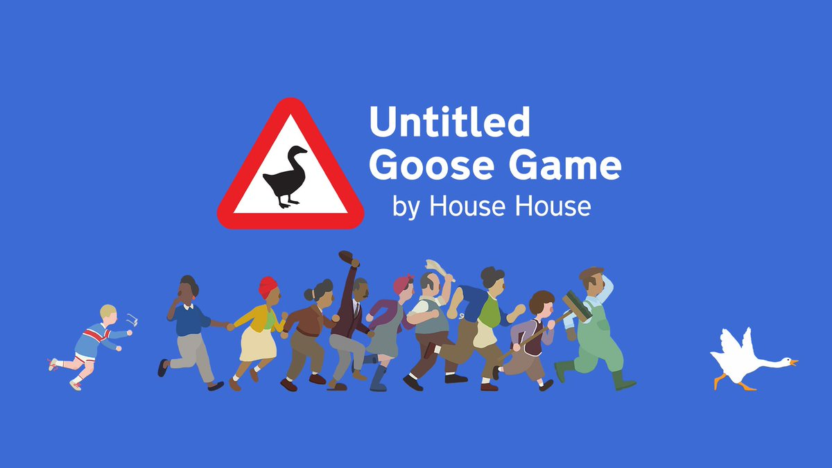 Giveaway Time   We're still locked inside so time for another giveaway!   Enter for a chance to win Untitled Goose Game on Nintendo Switch  How to enter:  • RT  • Follow @_playfulcry  • Tag somebody  Winner picked June 5th #NintendoSwitch #indie #eShop #Giveaway #gamerpic.twitter.com/VwZZBes2Um