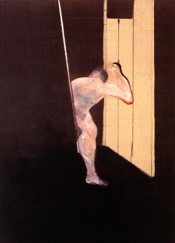 Figure in Open Doorway, 1990 #francisbacon #bacon pic.twitter.com/GvwV5OfVdS