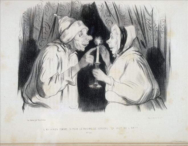 There is nothing like that for the common cold, it is worth gold #realism #honoredaumier <br>http://pic.twitter.com/Y5YcoYLzeo