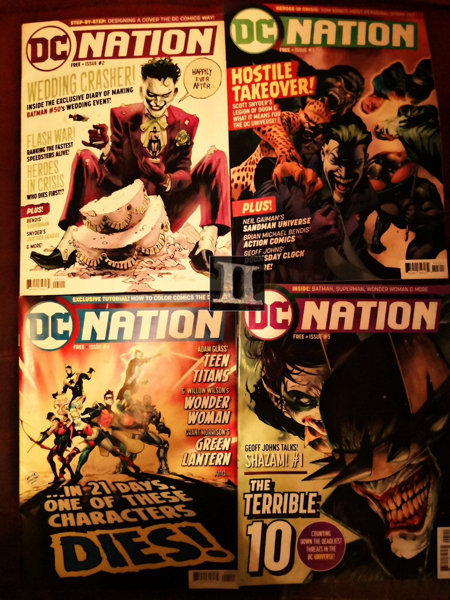 Back some years #DCComics published their in-house magazine #DCNation that had the flavor of those #Wizard Magazine publications! Hint: They brought people from the old Wizard crew! It was free and fun! Sadly it was cancelled. I'd pay for it to be back, @DCComics!pic.twitter.com/wucKzLtn4u