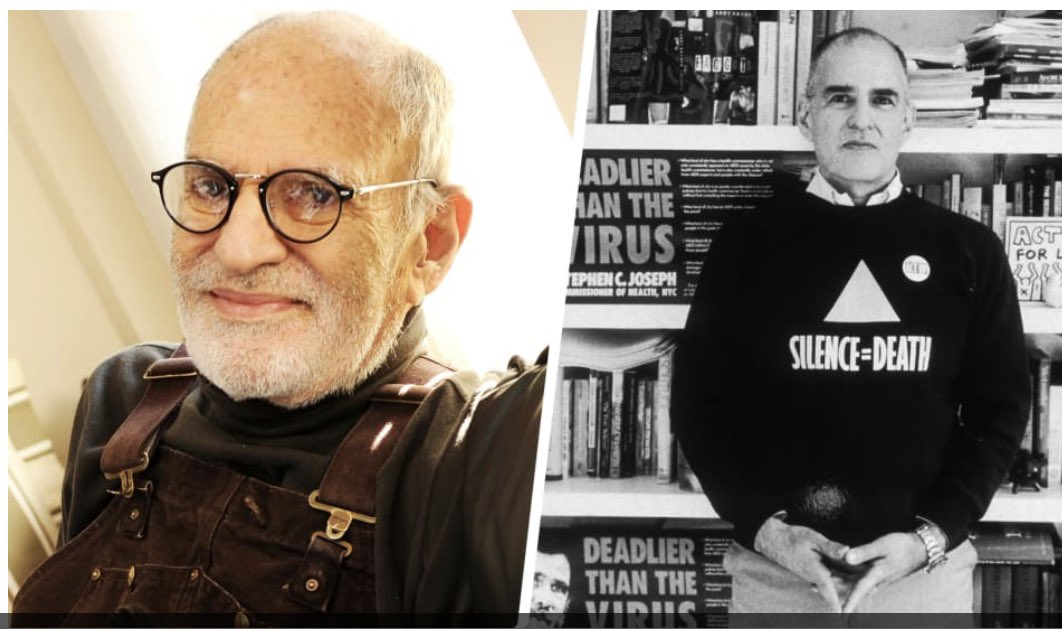 Larry Kramer saved countless lives and he changed our behavior. Back in the 80s few wanted to listen, but that didnt stop him. He ran on outrage. So, if you're looking for something truly inspiring to watch, dont miss 'Larry Kramer in Love and Anger' Thank you Larry. Ill miss you <br>http://pic.twitter.com/TwWgnGPdoM