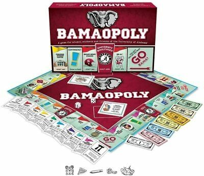University of #Alabama Bamaopoly Board Game - Available on #ebay New & Sealed  #UA #RollTide #RTR @UofAlabama #Bama  #shopsmall #HodgePodgePam #ebayROCteam   https://t.co/70WY2gj5PR https://t.co/2mv3Sys1Tp