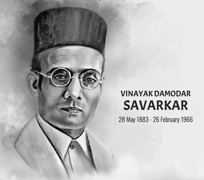 A respectfull tribute to #VeerSavarkar on his birth anniversary .He is a freedom fighter ,social reformer, writer and thinker. He should be the father of nation instead of Mahatma Gandhi. Hindutva  #BharatRatnaForSavarkar <br>http://pic.twitter.com/6chs9mcQr1