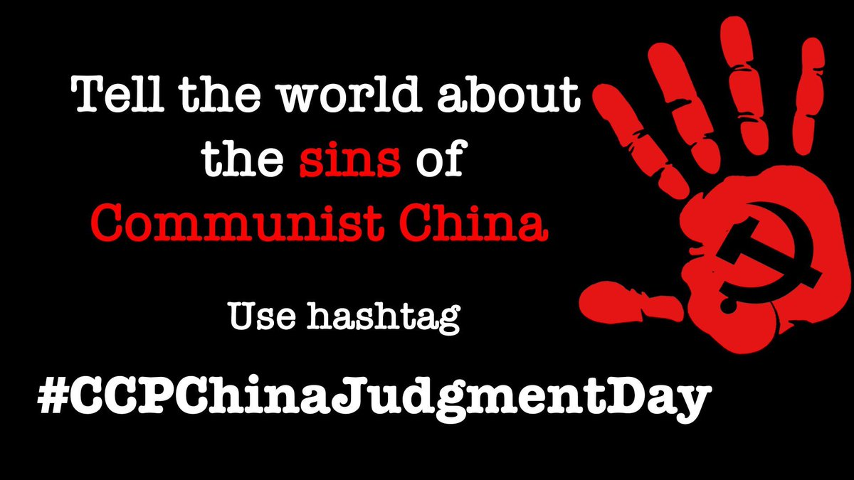 CCP is corrupt on account of (1) MURDERING students in #TiananmenSquare  on 4thJune1989 (2) BRUTALLY suppressing #Tibetan , #Uyghur & #Hongkonger 'a HUMAN RIGHT  (3) Causing #COVID19 #WuhanVirus pandemic murdering 356K+ lives and so on so on... #CCPChinaJudgmentDay A MUST!!!pic.twitter.com/G8VhJzUzLu