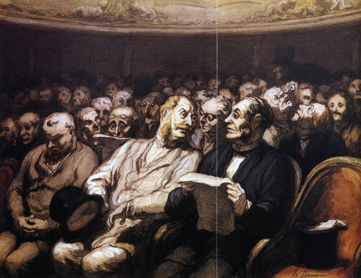 The Intermission #honoredaumier #frenchart<br>http://pic.twitter.com/uMFvB2cpdd