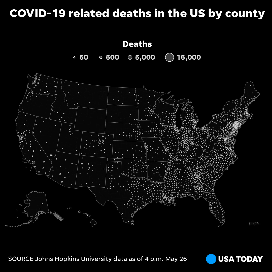 Its been more than four months since the CDC announced the first confirmed coronavirus case in the U.S. In that time, the coronavirus has claimed the lives of 100,000 Americans. bit.ly/3d8v9Md