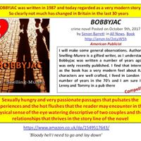 BOBBYJAC by author A E Snelling-Munro Upyours43  was written in 1987 and today regarded as a very modern story!  Find out more!  USA:  http:// amzn.to/2GvAYmW     UK:  http:// amzn.to/2DspId6      murder mafia iartg crime thriller mystery CrimeFiction  LI #AltRead #WriterWednesday<br>http://pic.twitter.com/jvjF2P3ZVa