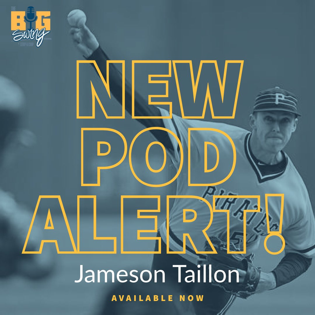 Check out our new pod with Pirates Pitcher and Union Rep, Jameson Taillon! We also touch on The Match, Top 3 War Movies, and our BOTW! @JTaillon19