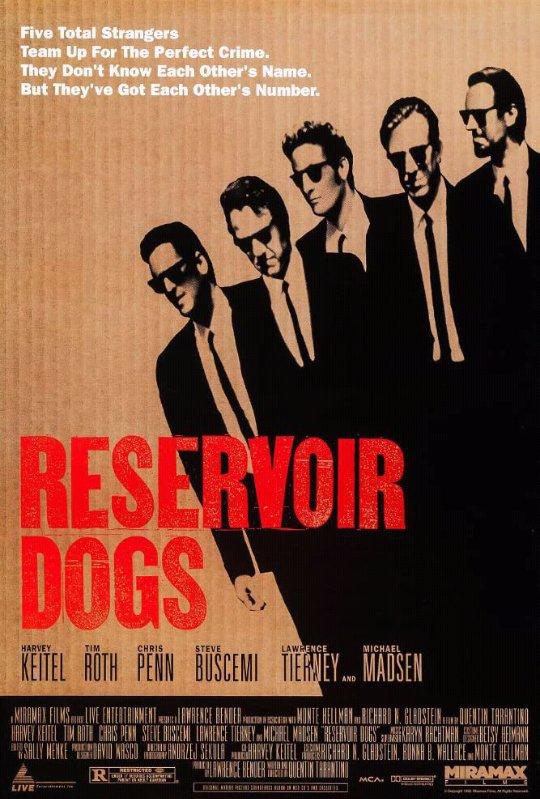 Reservoir Dogs (1992) Dir: Quentin Tarantino #NowWatching #NowPlaying  #cine pic.twitter.com/lrjQB7p3L9