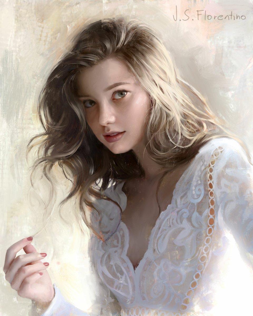 Justine Florentino #portrait #artist #art #Illustrator pic.twitter.com/lWGhWkqNw3