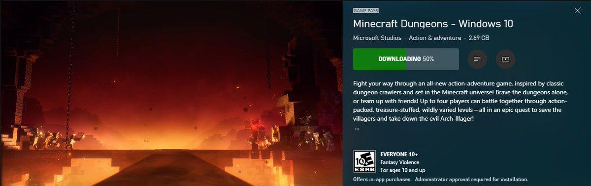 Heyyy guess what we're streaming tomorrow? http://www.mixer.com/squishifer #Minecraft #MinecraftDungeons #mixerstreamer #SmallStreamerCommunitypic.twitter.com/yXIH1dGXsj
