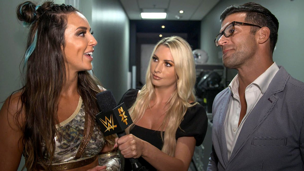 EXCLUSIVE: After a huge win tonight, @ImChelseaGreen drops a bombshell on @RobertStoneWWE. #WWENXT