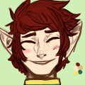 very small pfp for a different website, I'm still proud on how this turned out though  #OC #sona #elf #profilepic #digitalart<br>http://pic.twitter.com/TJ9lgOGrXA