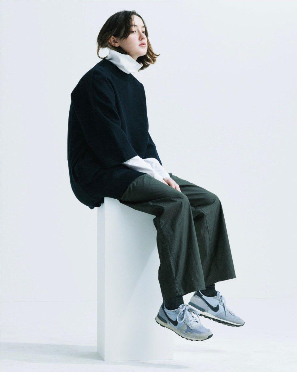 久崎康晴が手掛ける「エイトン(ATON)」の2020-21年秋冬コレクション。
