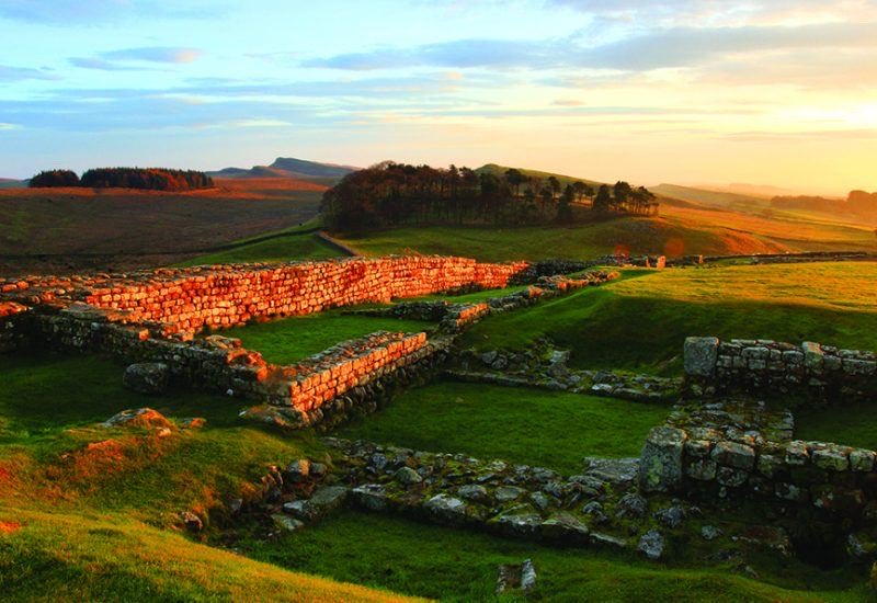 One of the best preserved Roman sites in #England is Housesteads - at the very edge of the mighty Roman Empire r/t @HadriansWall