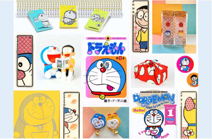 Doraemon: 50th Anniversary Online Fair at Ginza Tsutaya Bookstore