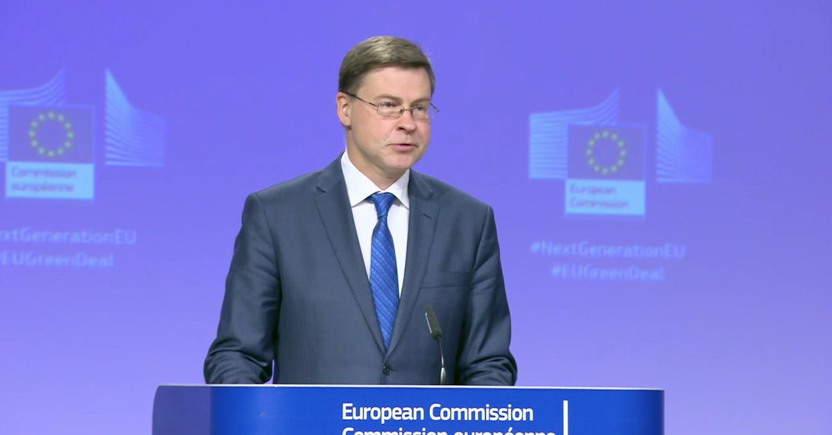 Commission VP @VDombrovskis says EU executive has long desired own resources for the EU budget (direct EU taxation), and the original #MFF proposal already for the 1st time included some including the #PlasticsTax Now with #RecoveryFund, this desire has turned into a necessity