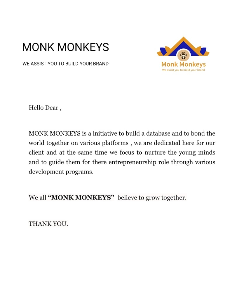 it's an honor to invite the intrested candidates who wish to join a dynamic Brand , in Media industry.  HOW TO JOIN..! Mail us with your resume MONKMONKEYS@OUTLOOK.COM  We will appreciate your efforts. We Monk Monkeys..   Thank You.  #Marketing #strategy #digitalmarketingpic.twitter.com/0VpsleqsvQ