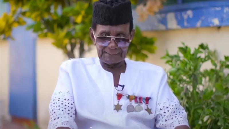 Coronavirus: Ghana war veteran, 95, walks 23km to raise funds https://t.co/D0XSuiY7aq https://t.co/E0J1ByQjLg