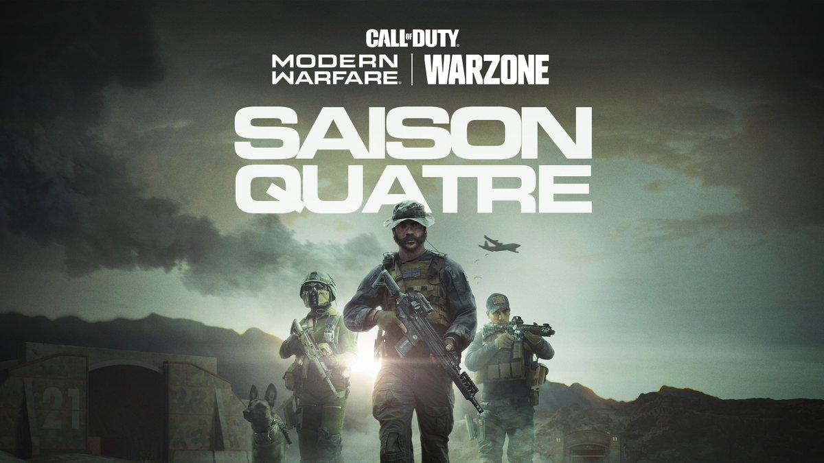 Le Capitaine rejoint le combat en personne.  Retrouvez Price dans la Saison 4 de #ModernWarfare et #Warzone, disponible le 3 juin. <br>http://pic.twitter.com/0ULaIRlZg7