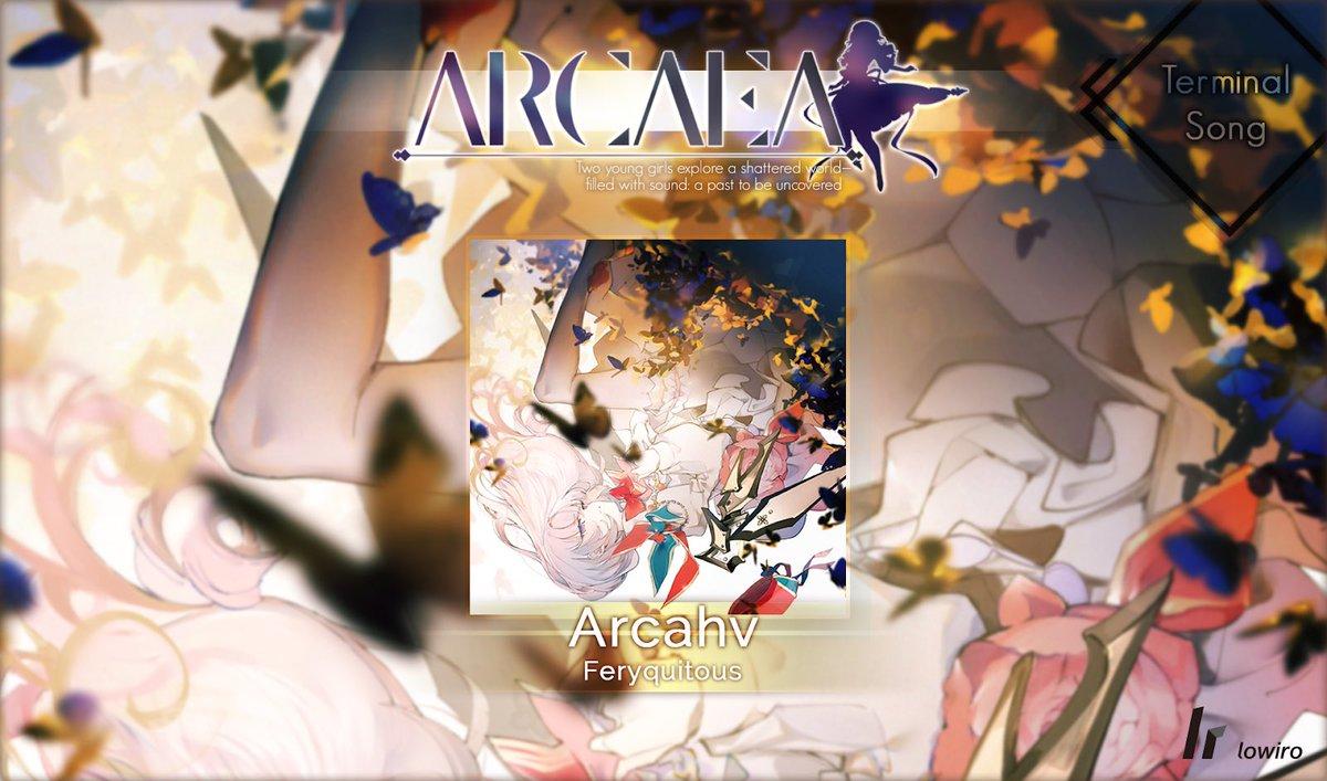 【告知】lowiro様の音楽ゲームアプリ「Arcaea」へ、オリジナル楽曲を書かせて頂きました。Terminal Song「Arcahv」物語の転機に立ち会えた事を光栄に思います。