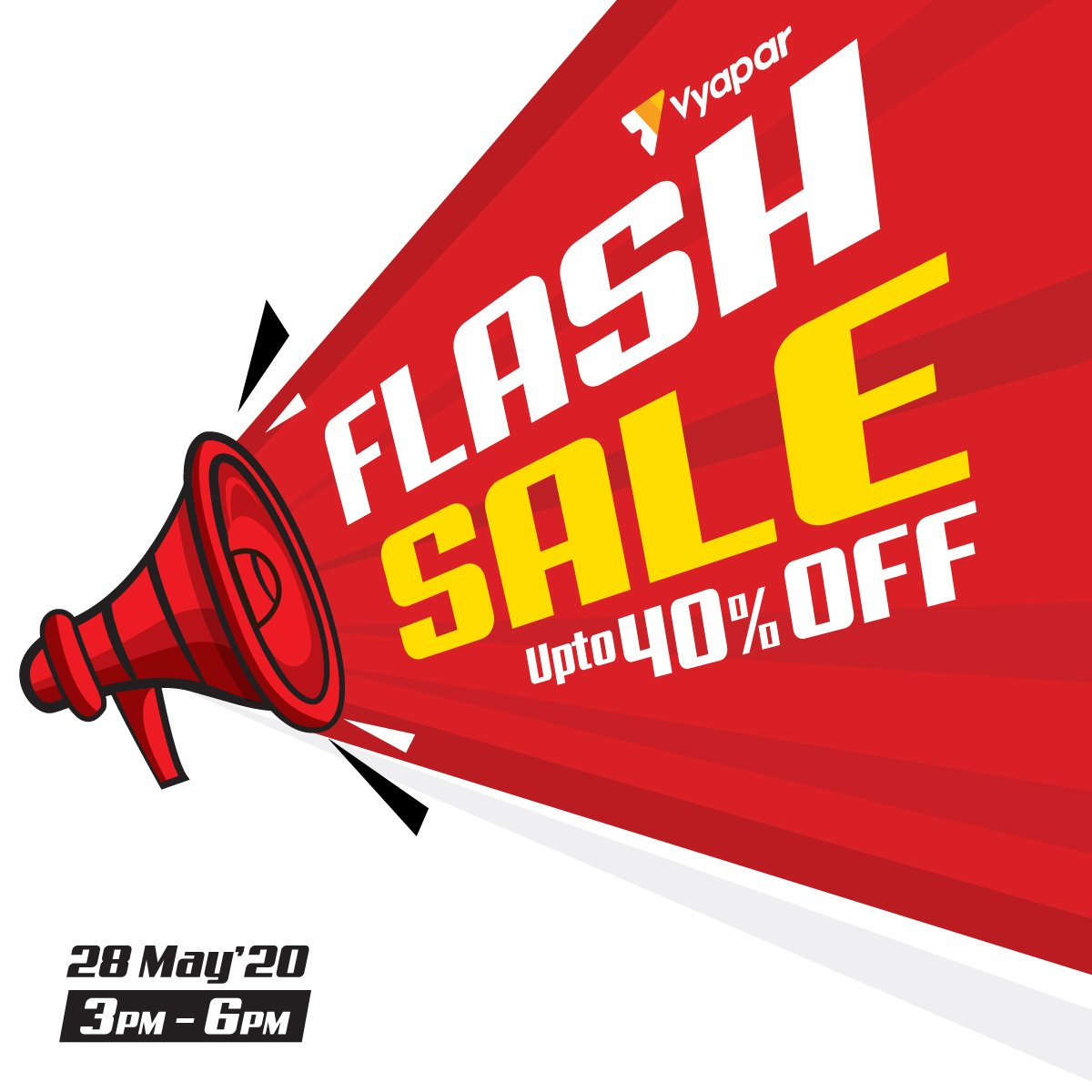 FLASH SALE  Get upto 40% off on all licenses valid only from today 3 PM-6 PM. Share this with 3 of your friends.   #offers #flashsale #sale #discount #sales #salesalesale #promo #promocode #buy #buylocal #onsale #supersale #deal #Contest #contestalert #giveawaypic.twitter.com/aRE5ren5lt