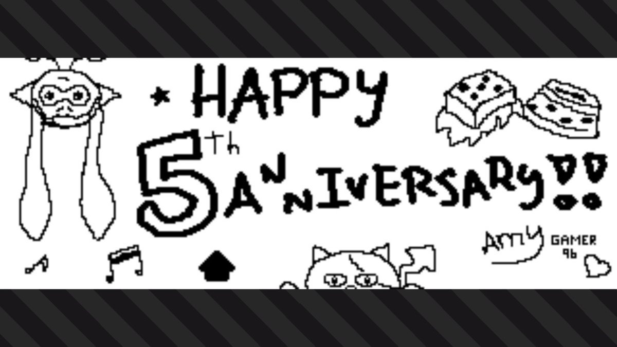 Pequeño post para celebrar los 5 añotes de #Splatoon ♥ Qué buenos años han sido :3 ★ Gracias a todo el #Nintendo team detrás!! #Splatoon2
